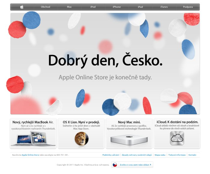 Apple Store v ČR