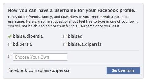 Facebook zavádí hezčí adresy