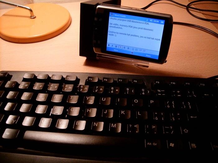 První měsíc s prvním PDA