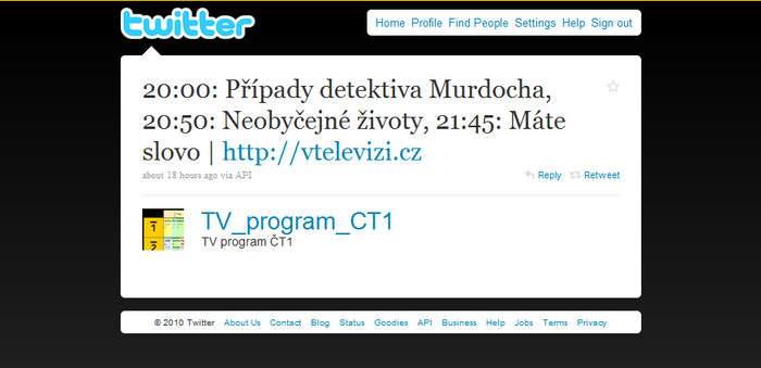 Twitter @TV_program_CT1
